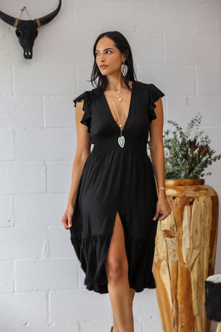 Girls Night Out Dress in Black