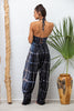 Hanalei Jumpsuit in Navy Tie-Dye