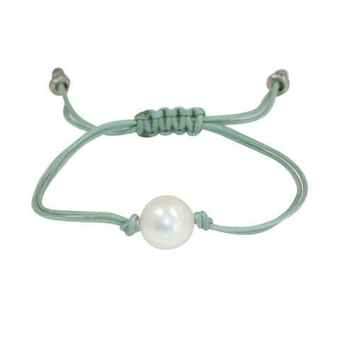 Freshwater Pearl Splash Bracelet in Sea Foam
