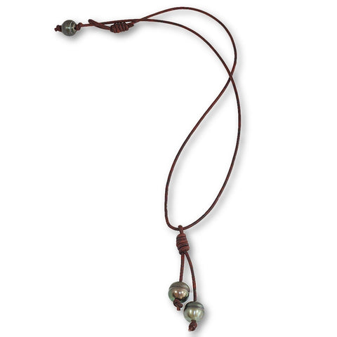Catos Necklace in Tahitian Pearls