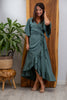 Nusa Wrap Dress in Seafoam
