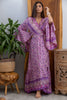 Gilli Kimono Dress in Rose Quartz