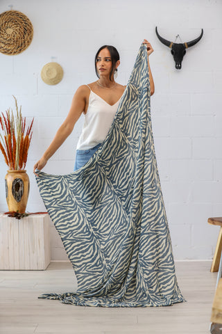 Classic Sarong in Zebra