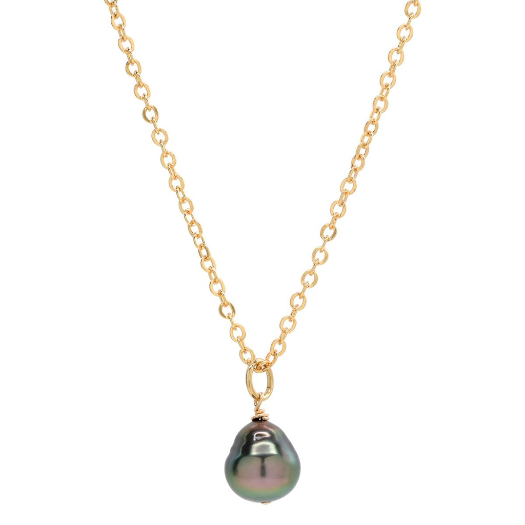 Kaya Necklace in Tahitian Pearl