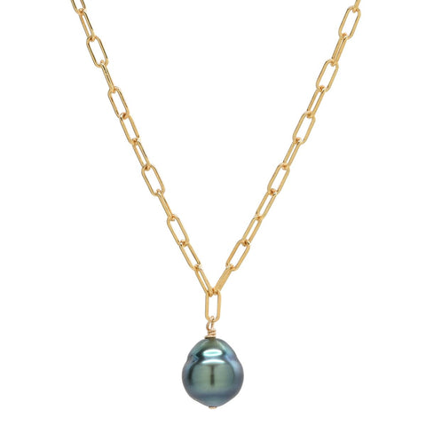 Mali Necklace in Tahitian Pearl