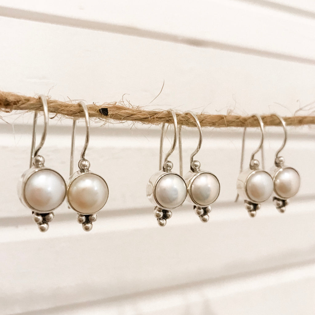 Pearl Wire Drops