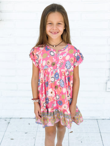 Zoe Play Dress in Candy