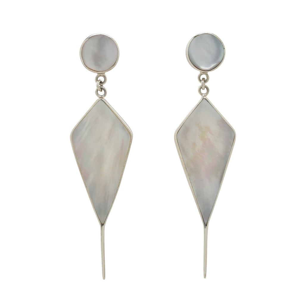 Talia Earring in Mother of Pearl