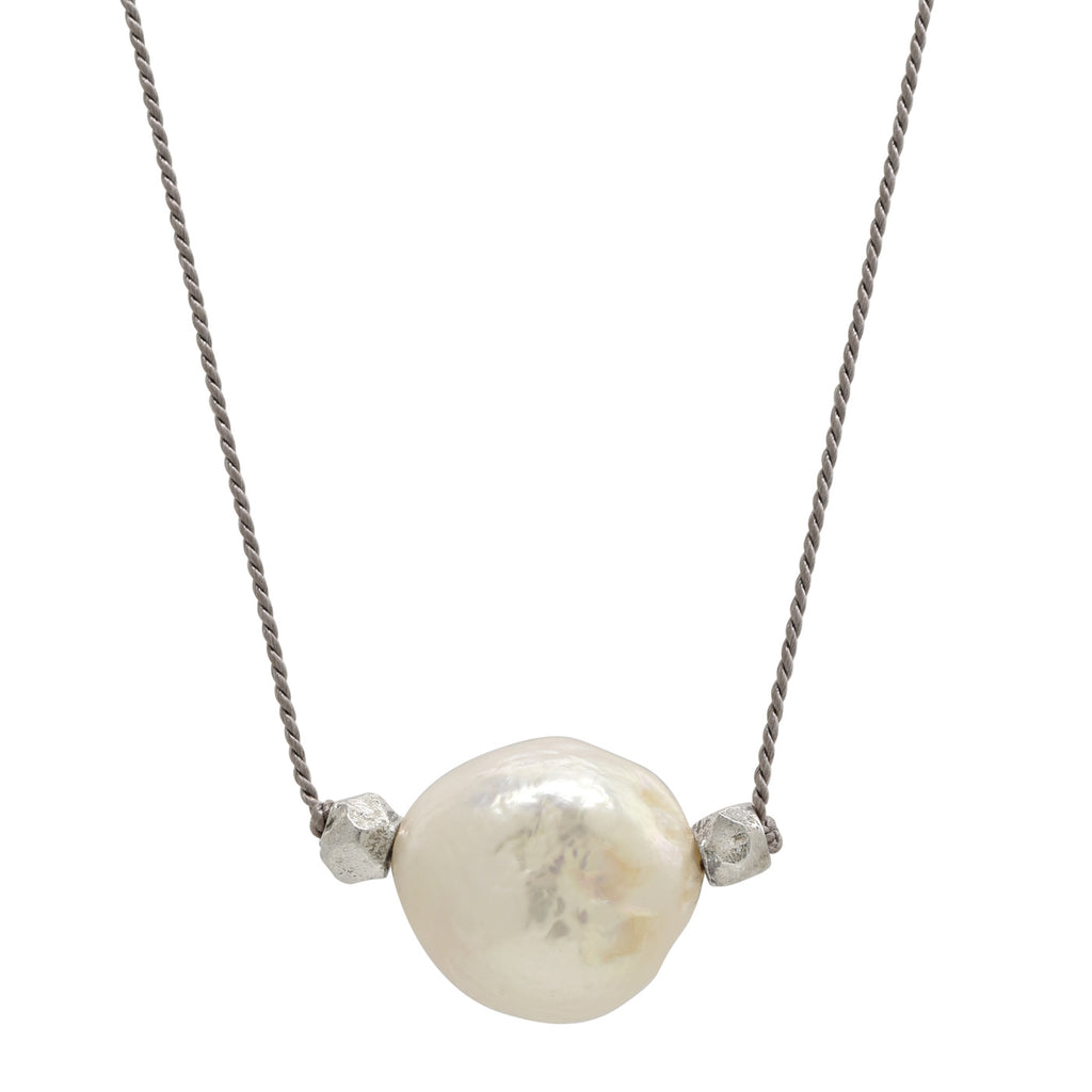 Freshwater Pearl Traveler Necklace