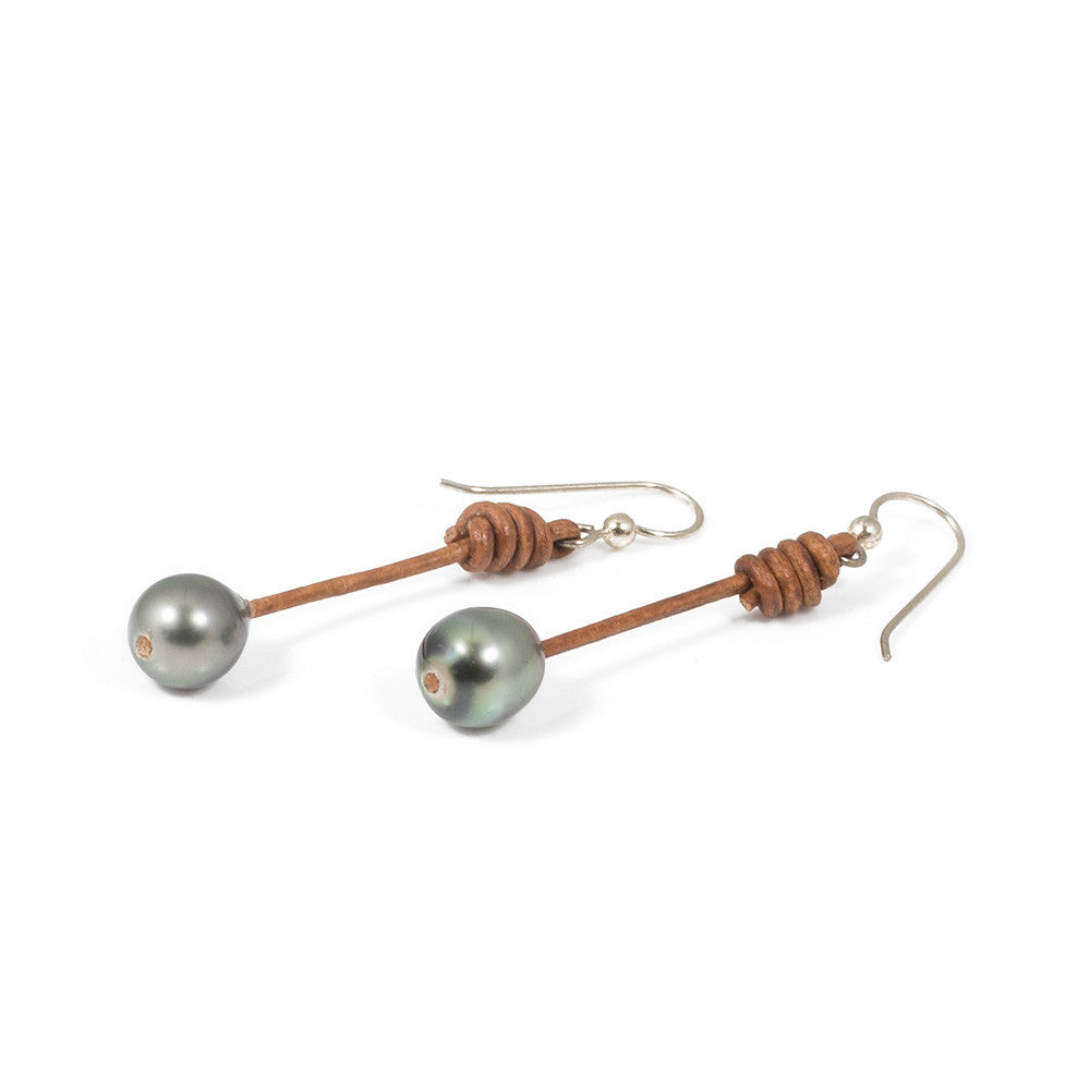 Tahitian Pearl Drop Earring -- Sea Lustre Jewelry - 1