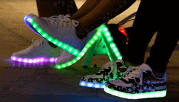 led sneakers category