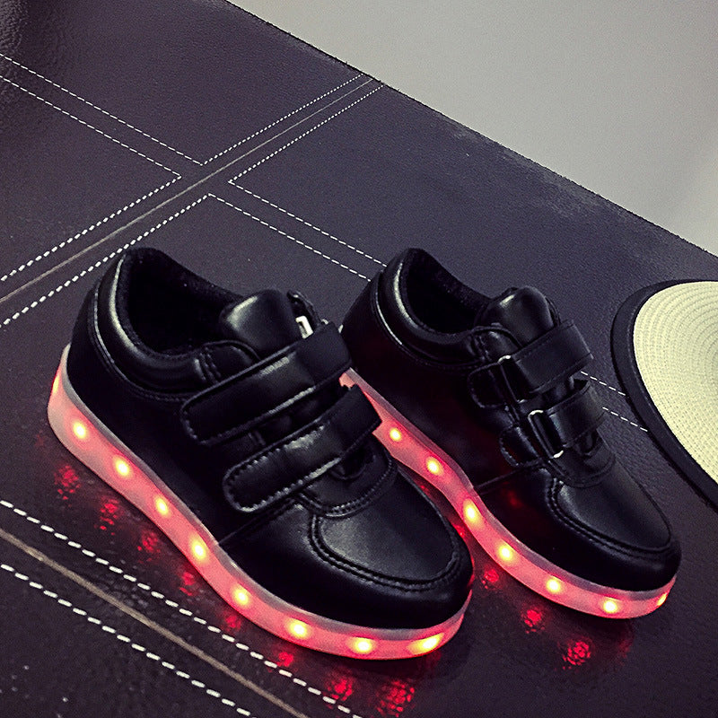 Led Sneakers Classic Strap Kids 1