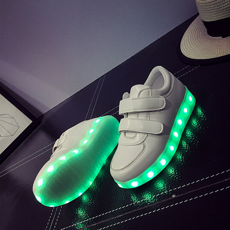 Led Sneakers Classic Strap Kids 3