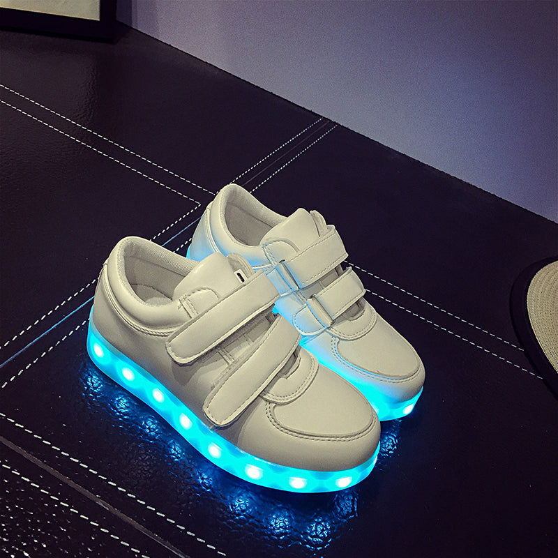 Led Sneakers Classic Strap Kids 4