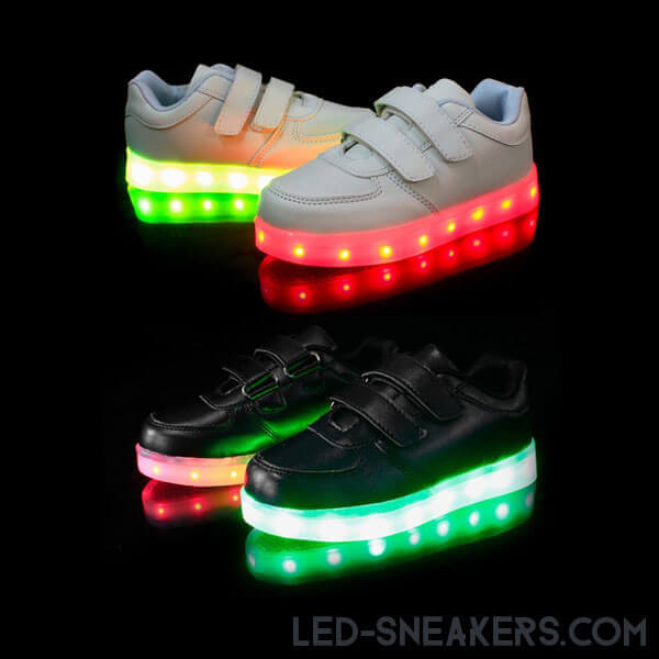 led sneakers kids led shoes kids light shoes kids chaussures led enfants led schuhe