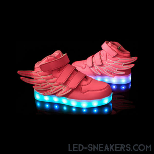led sneakers kids led shoes kids light shoes kids chaussures led enfants led schuhe wings gall