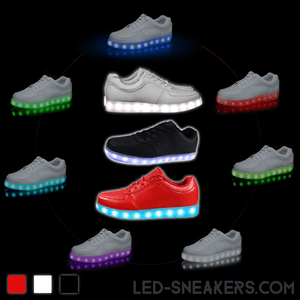 led sneakers led shoes light shoes chaussures led led schuhe allcolors low model main