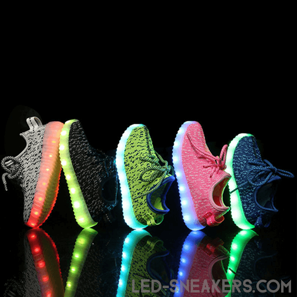 led sneakers Mesh kids led shoes Mesh kids gall