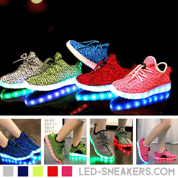 led sneakers Mesh kids led shoes Mesh kids main