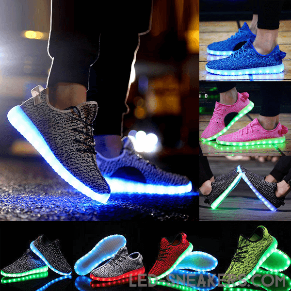 Mesh led sneakers Mesh led shoes gall
