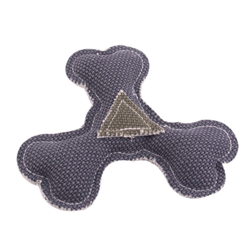 Fashion Triangle Dart Cat Puppy Dog Chew Bite Training Tool Pet Sound Play Toys