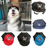 Fashion Gauze Baseball Cap Pet Dog Summer Anti-sunlight Breathable Puppy Hat