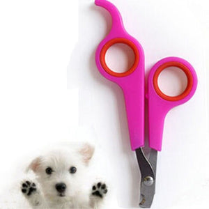 Pet Nail Clippers for Dog Cat Rabbit Grooming Claw Trimmers Scissors Cutter