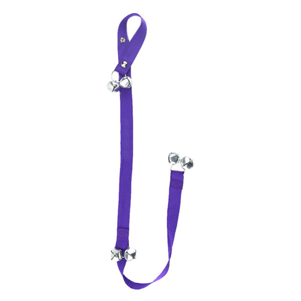 Pet Dog Puppy Door Handle Doorbell Tinkle Loud Bells Rope House Training Tool