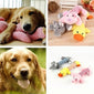 Dog Puppy Pet Chew Squeaker Squeaky Plush Pig Duck Elephant Sound Training Toy