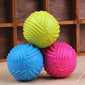 Pet Dog Cats Play Rubber Ball Puppy Throw Teaser Playing Fetch Chew Bite Toys