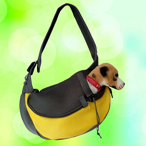 Pet Dog Cat Puppy Zipper Travel Tote Shoulder Bag Sling Backpack Pet Carrier