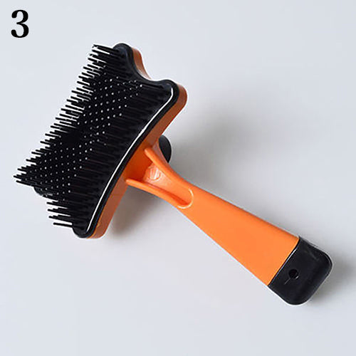 Practical Dog Cat Hair Pet Fur Shedding Trimmer Grooming Rake Tool Comb Brush