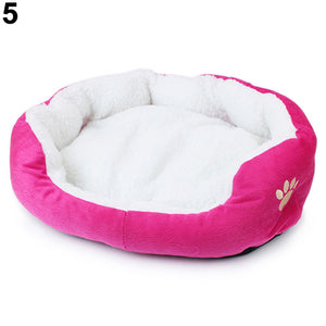 Winter Warm Dog Cat Puppy's Fashion Comfortable Soft Pad Bed Pet Cushion Mat