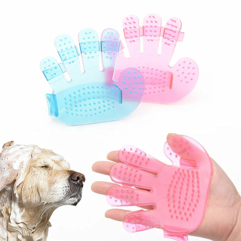 Pet Dog Grooming Hair Cleaning Massage Glove Pet Supplies Hair Cleaning Brush Comb for Cat Dog