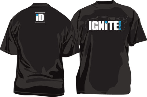Ignite Design silhouette t-shirt (black)