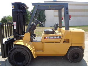 2004 CAT DP40KL Solid Pneumatic Forklift SN 2249