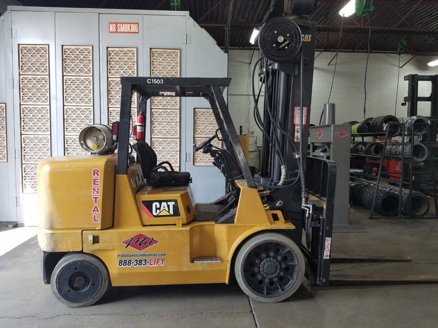 2004 Caterpillar GC70K Cushion Tire Forklift SN 2114