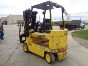 2004 HYSTER E80XL3 Electric Sit Down Forklift SN 2145