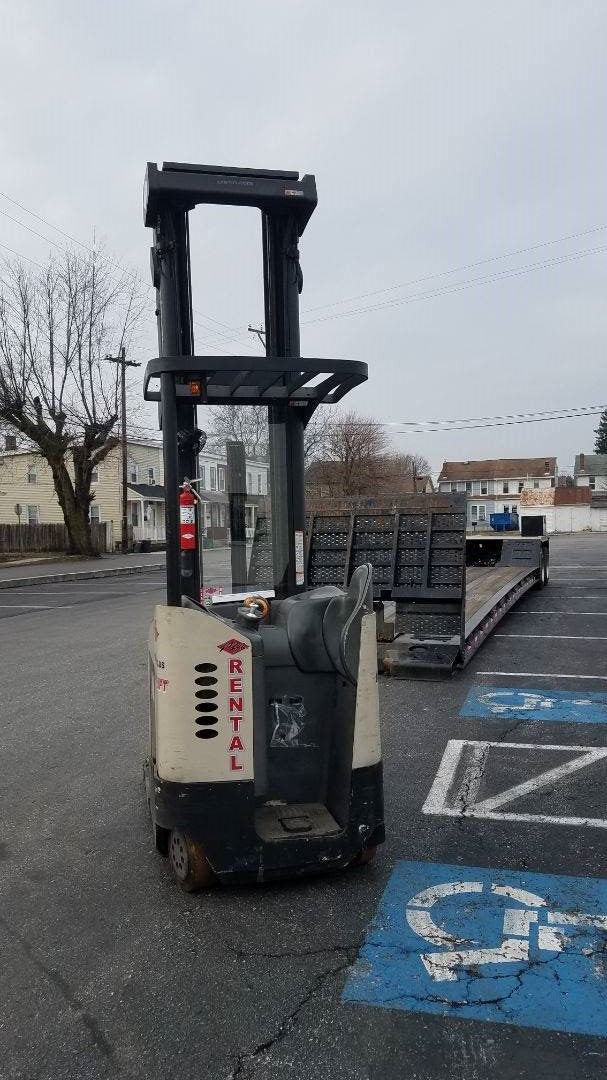 2006 Crown RR5225-45 Narrow Aisle Stand Up Order Pickers SN 2119