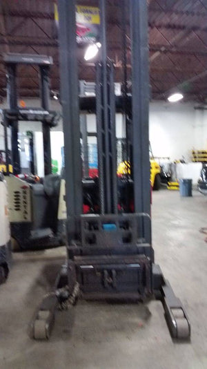2006 Raymond EASI-45TT Narrow Aisle Stand Up Reach Truck SN 2115