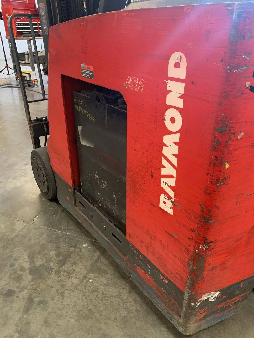 2008 RAYMOND 420C30QM Narrow Aisle Stand Up Order Pickers SN 1741