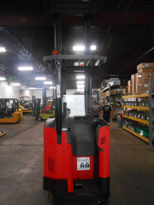 2009 Raymond 7400-R45TT Narrow Aisle Stand Up Order Pickers SN 2106