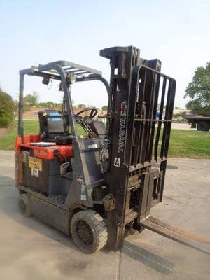 2010 TOYOTA 8FGCU20 CUSHION TIRE FORKLIFT SN 2287