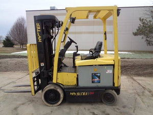 2011 HYSTER E50XN-33 Electric Sit Down Forklift SN 1874