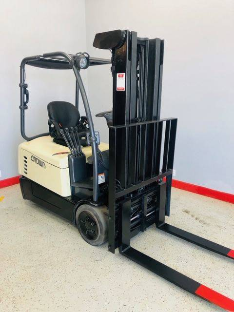 2013 CROWN SC5245-35 Electric Sit Down Forklift SN 1877