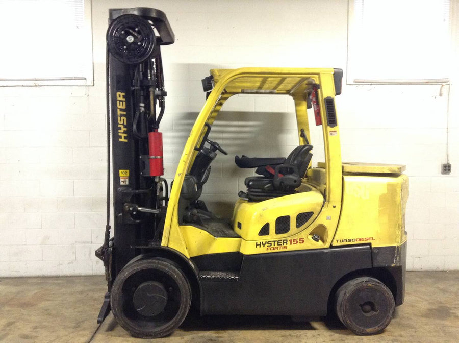 2013 HYSTER S155FT CUSHION TIRE FORKLIFT SN 2275 - Call for Price