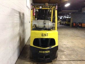 2013 HYSTER S70FT CUSHION TIRE FORKLIFT SN 2222