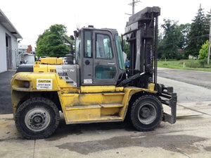 2013 HYUNDAI 110D-7E Pneumatic Tire Forklift SN 2285 - Call For Price