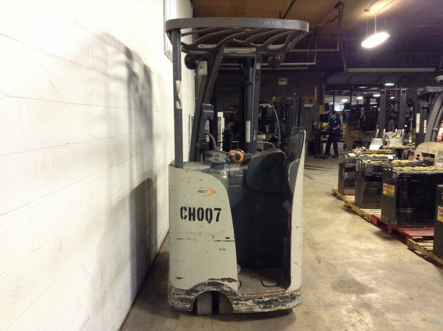 2014 CROWN RC5545-40 Narrow Aisle Stand Up Docker SN 2315 - Call For Price