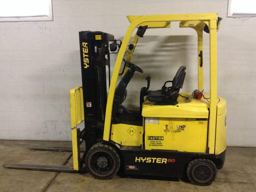 2014 HYSTER E60XN-33 ELECTRIC SIT DOWN FORKLIFT SN 2258-CALL FOR PRICE